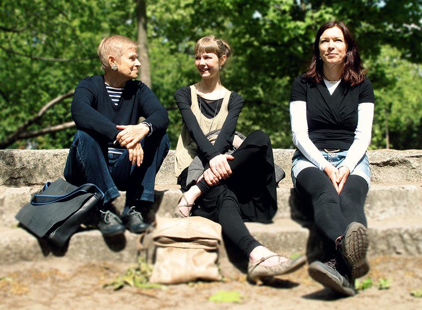 v.l.n.r. Ingeborg Trupp, Stella Hombach, Anke Böschen © Ihre Gesundheitsprofis MAGAZIN