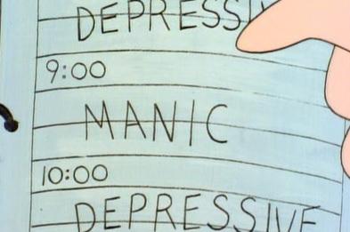 Manisch depressiv was tun