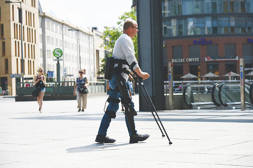 André van Rüschen © ReWalk Robotics GmbH