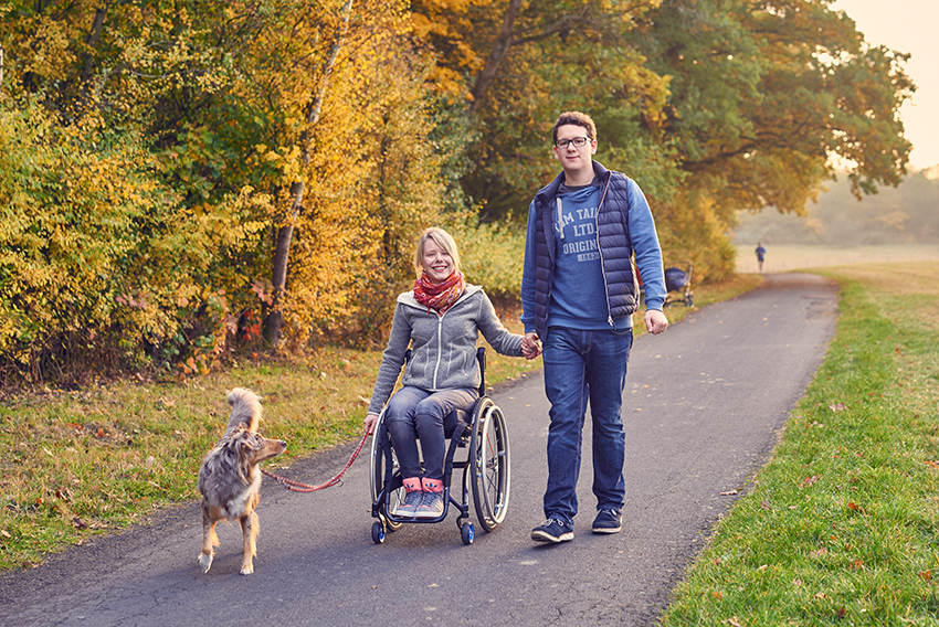 TH10. Leben mit Querschnitt und Hund.