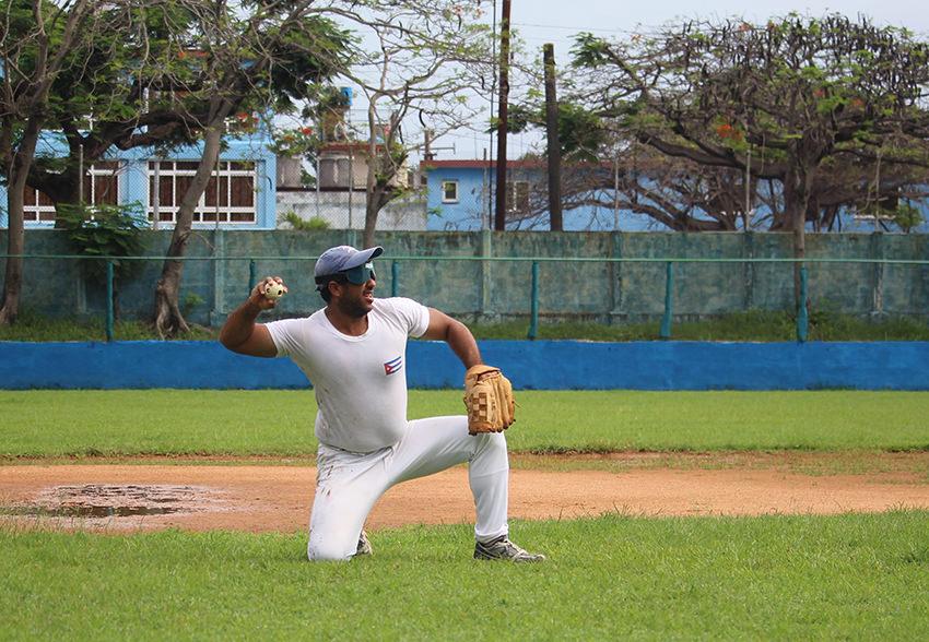 In Kuba spielen Blinde Baseball nach Gehör
