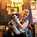 Künstlerin Carol Massa in ihrer Wohnung inNew York / Foto: Stephanie Ott/dpa