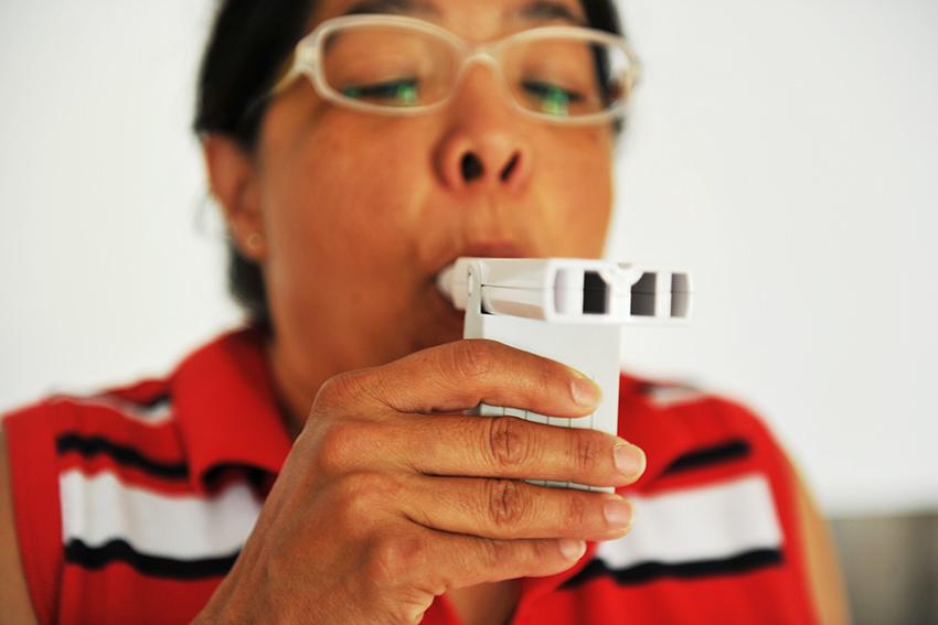 Alltag Atemnot: COPD-Patienten und das Ringen um Luft