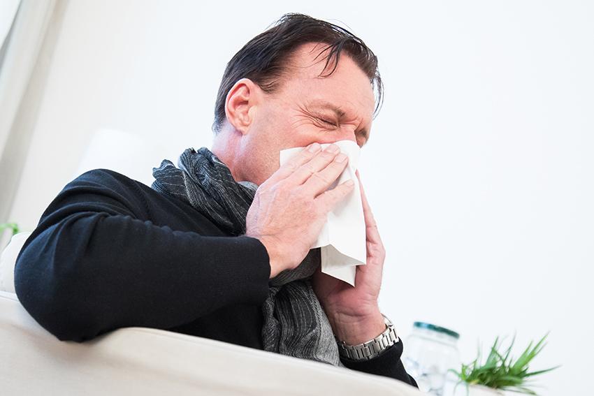 Arme Männer! Sie werden tatsächlich leichter krank