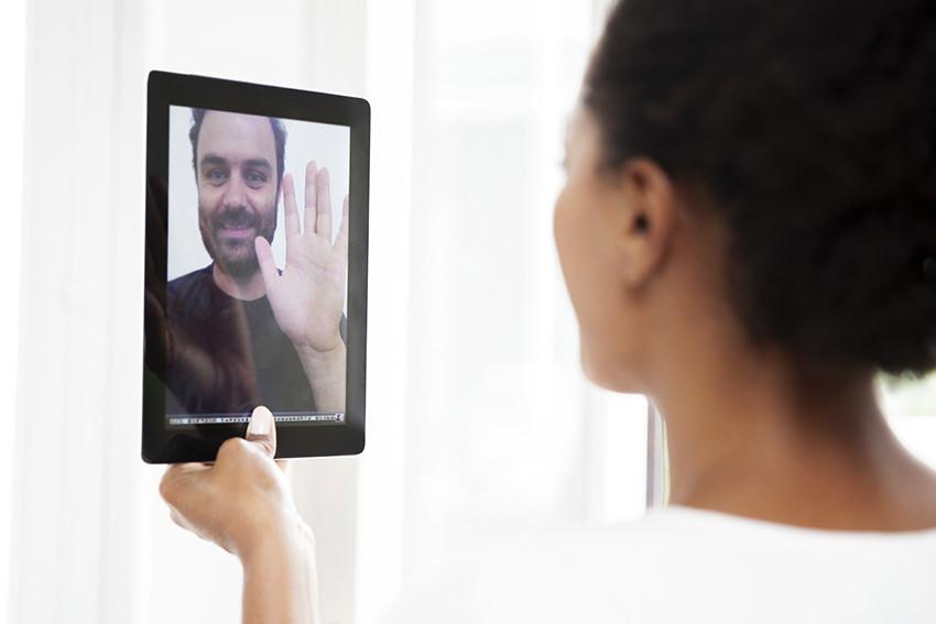 Therapie per Videochat: Online aus der Depression