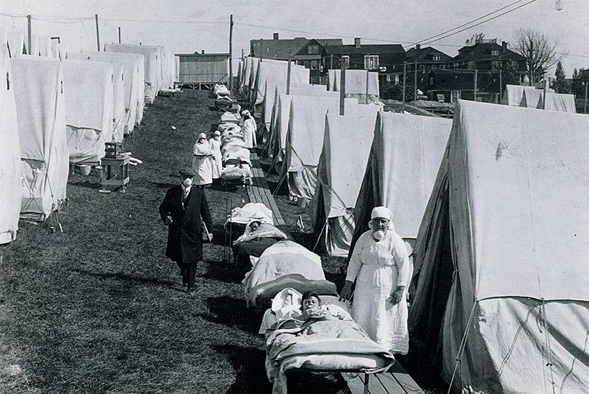 Blaue Haut, schneller Tod – 100 Jahre Spanische Grippe